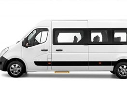 16 Seater Minibus hire  with driver London